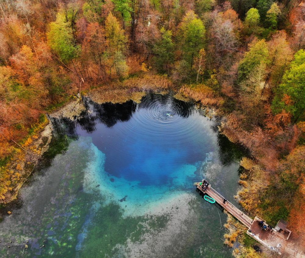 Голубые озера в окрестностях Казани