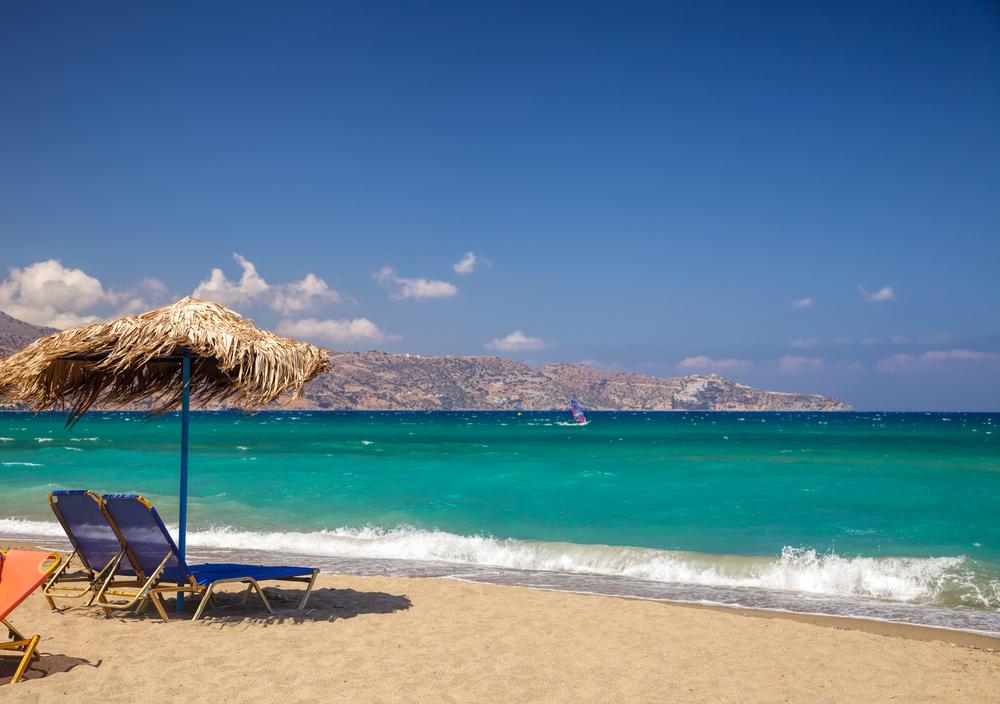 Пляж в Амударе