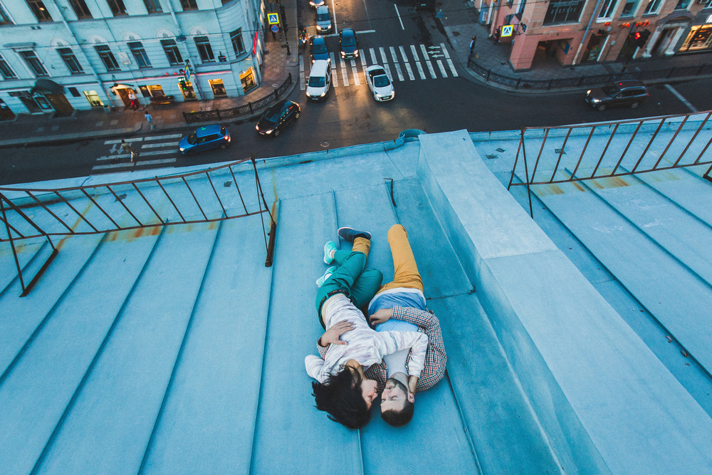 Фотосессия на крыше