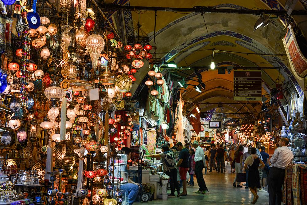 Гранд-базар. Стамбул, Турция.