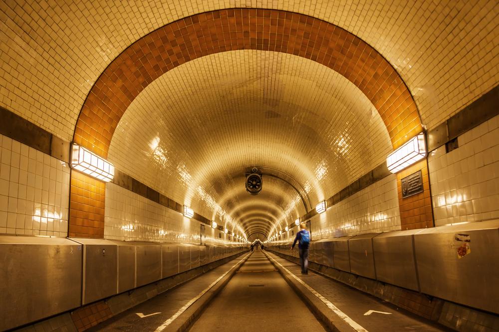 Эльбский туннель, Гамбург
