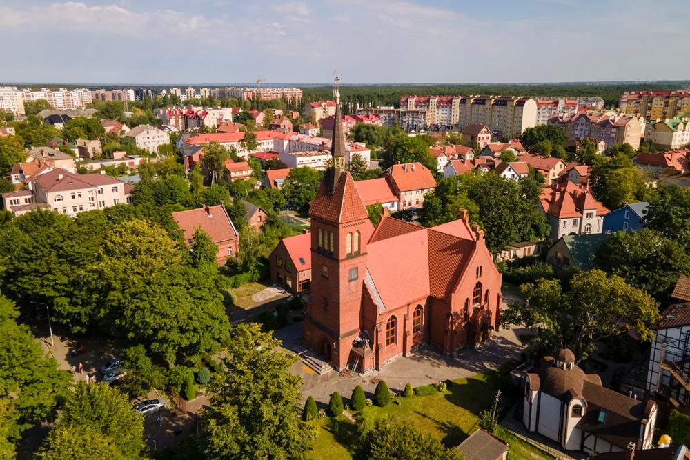 Спасо-Преображенский собор, Зеленоградск