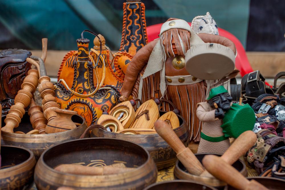 Национальные бурятские сувениры