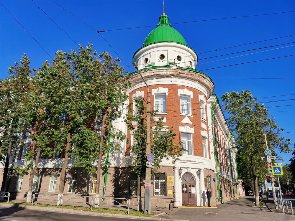 Дом с куполом (ПГГПУ)