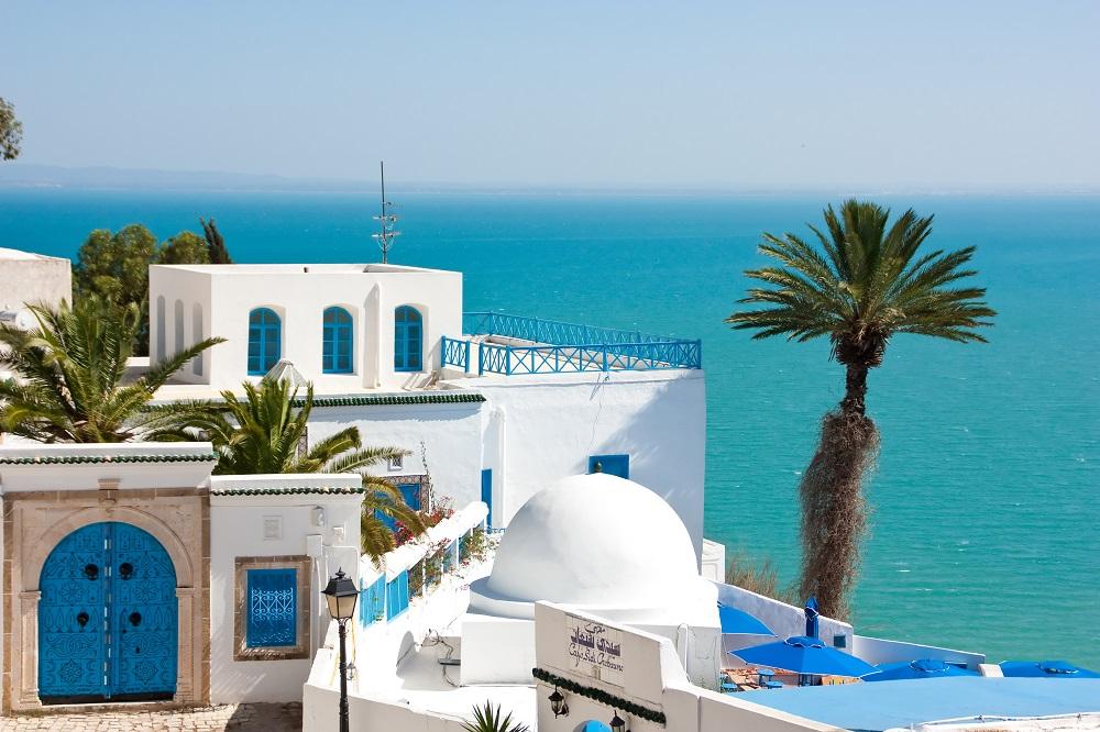 Сиди-бу-Саид, Тунис.
