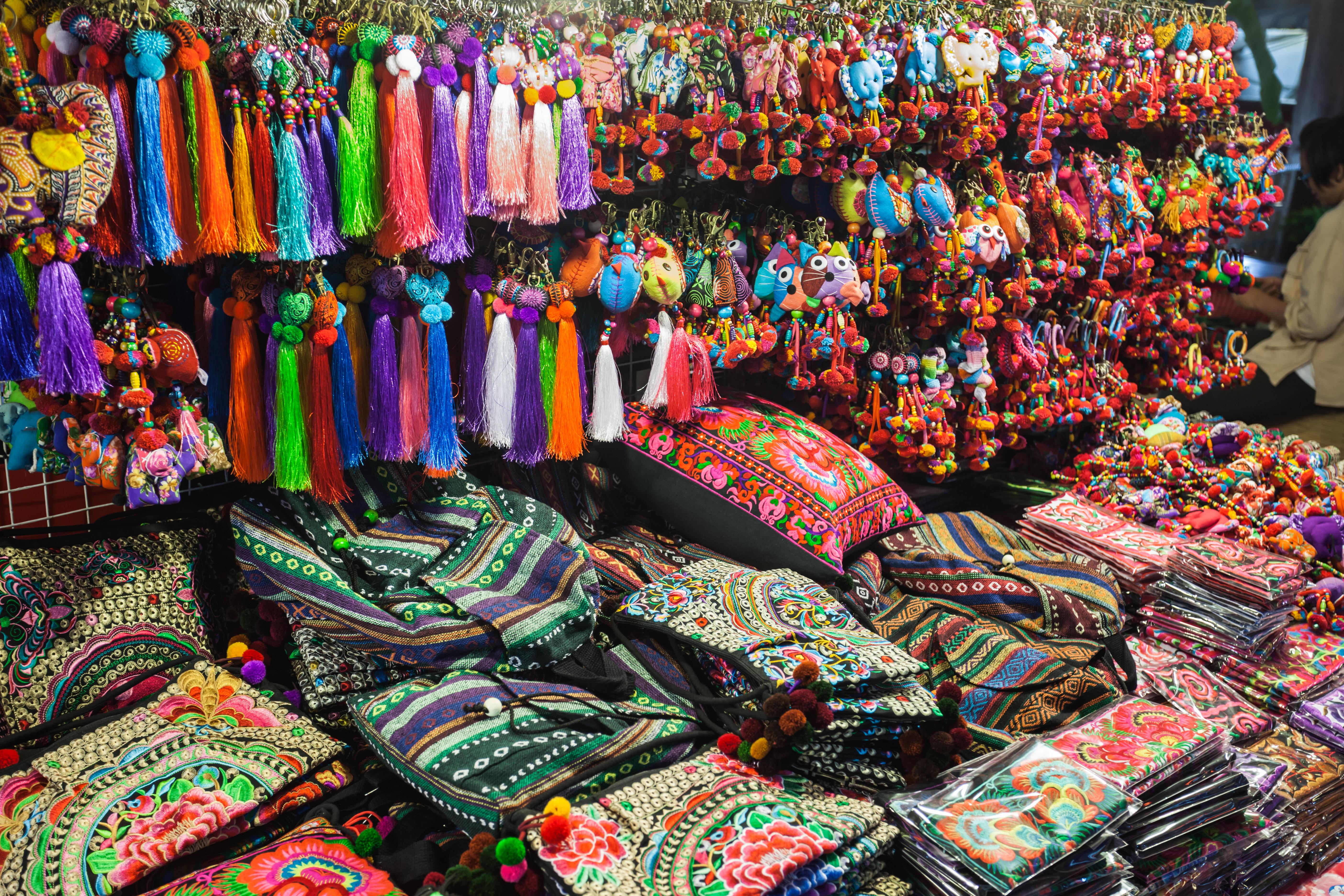 Изделия ручной работы тайских мастериц