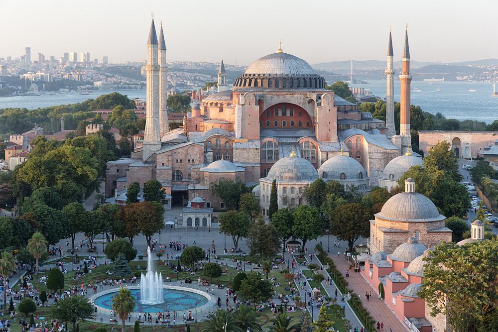Собор Святой Софии. Стамбул, Турция.