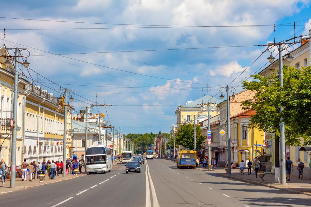 Улица Большая Московская, Владимир