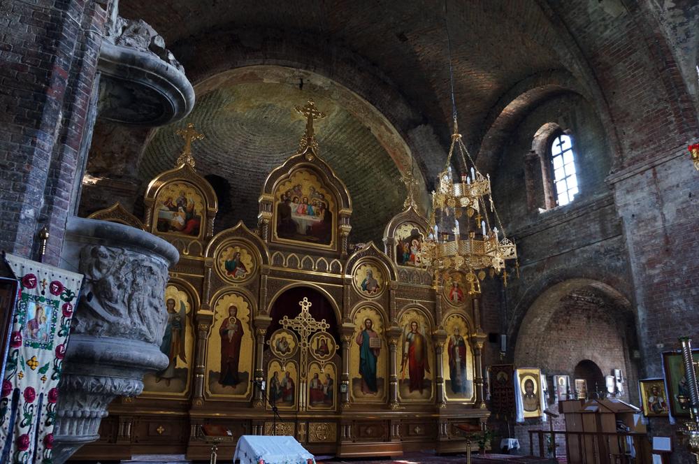 Гарнизонный собор изнутри