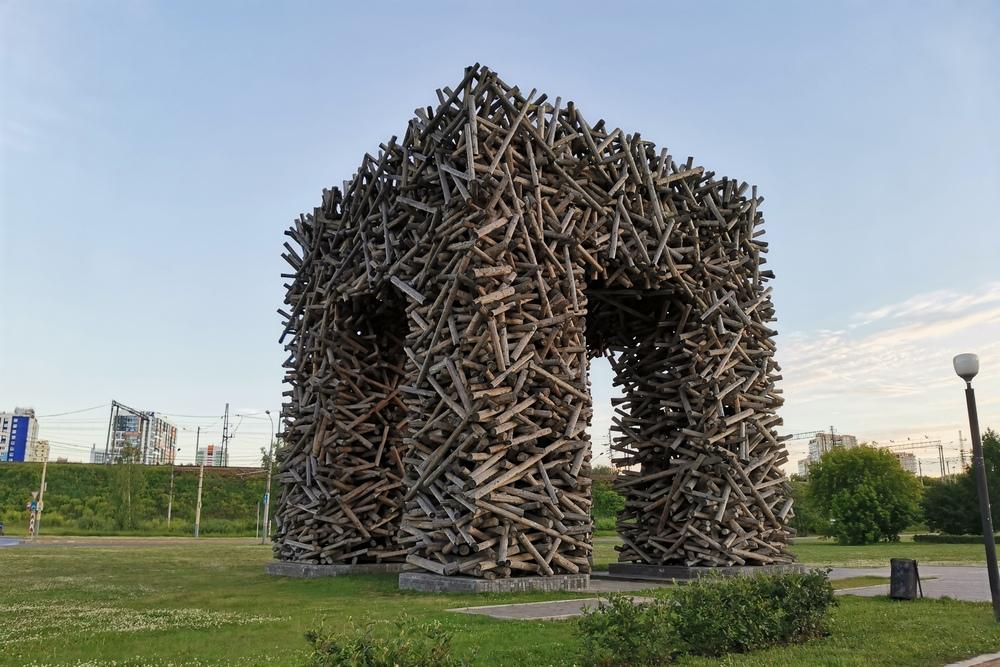 Памятник букве П