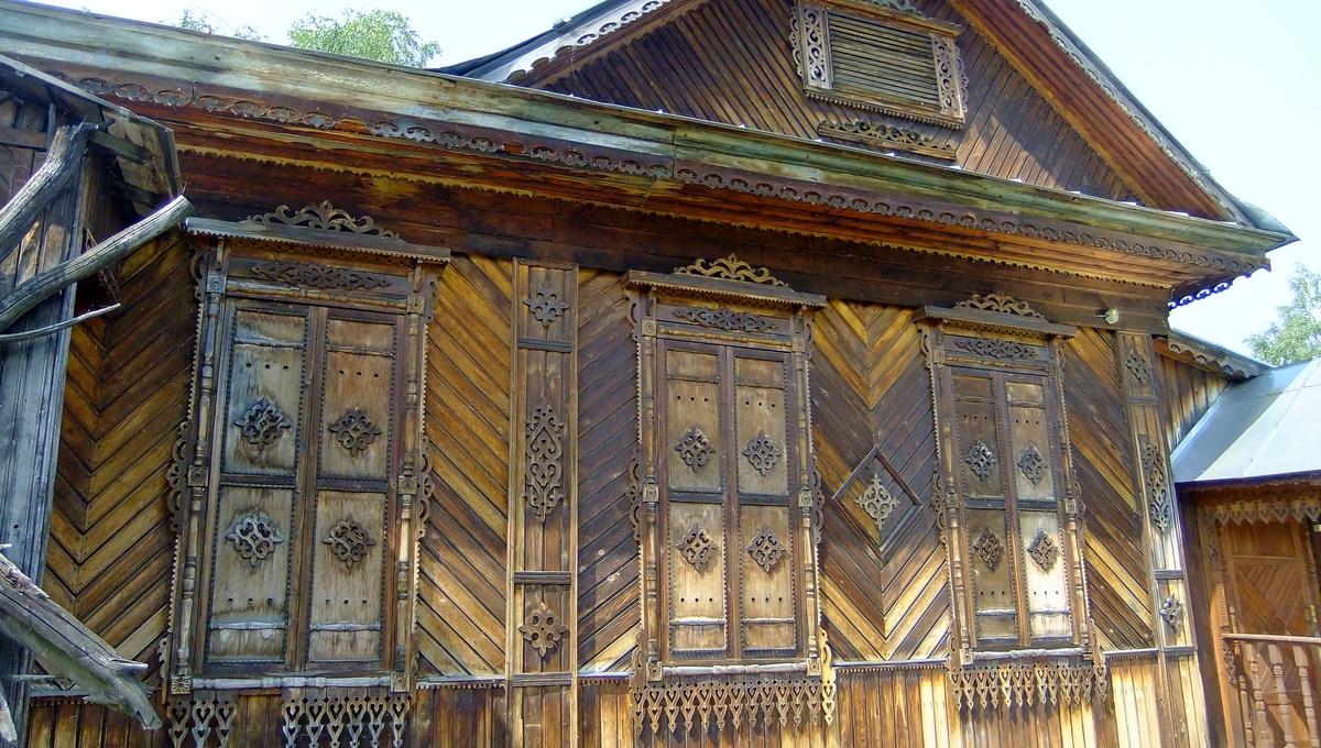 Деревянный дом в Чердыни