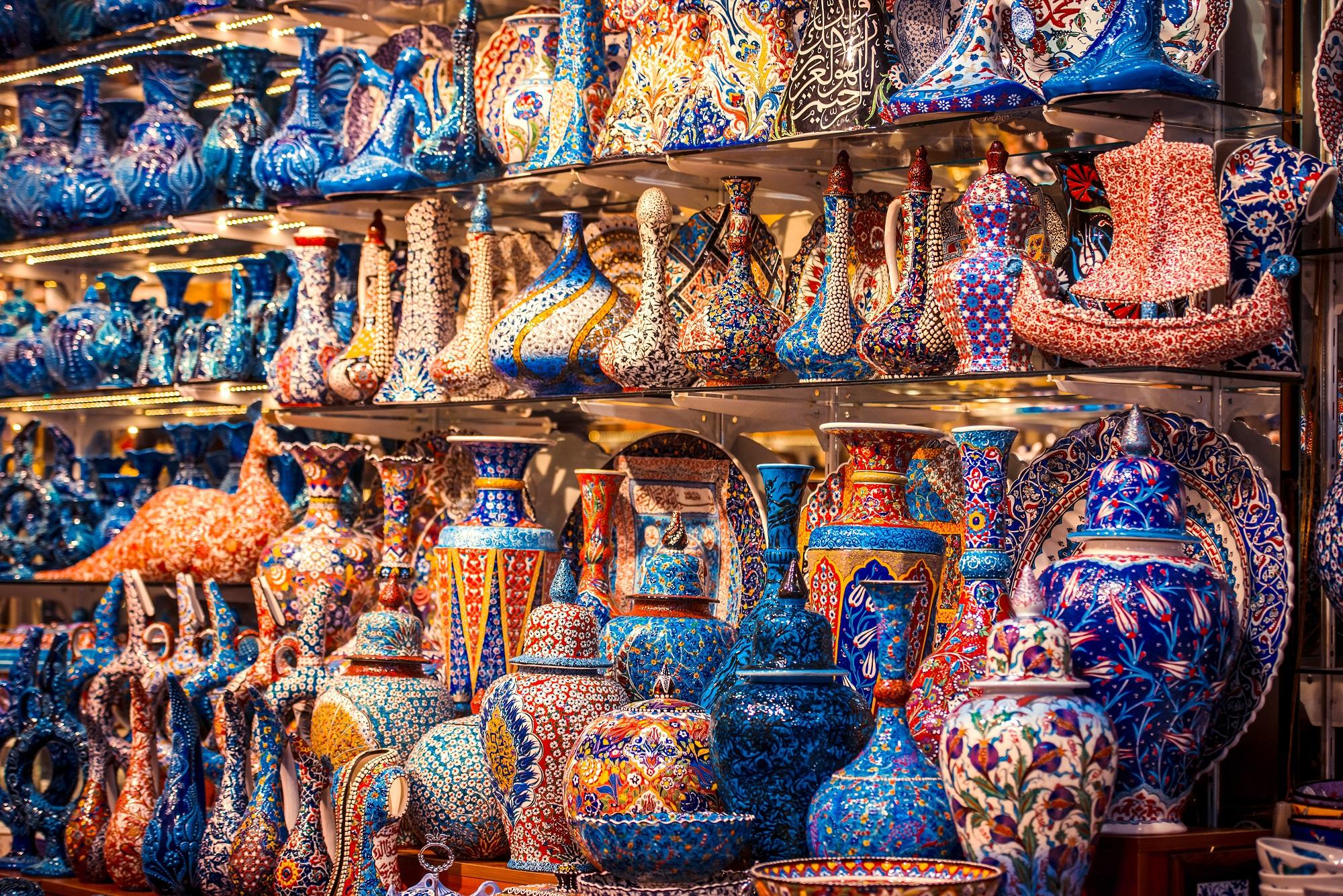 Турецкая керамика на Гранд Базаре