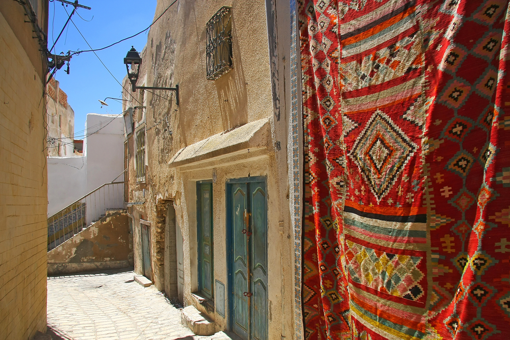 Улочки медины. Порт Эль-Кантауи, Тунис