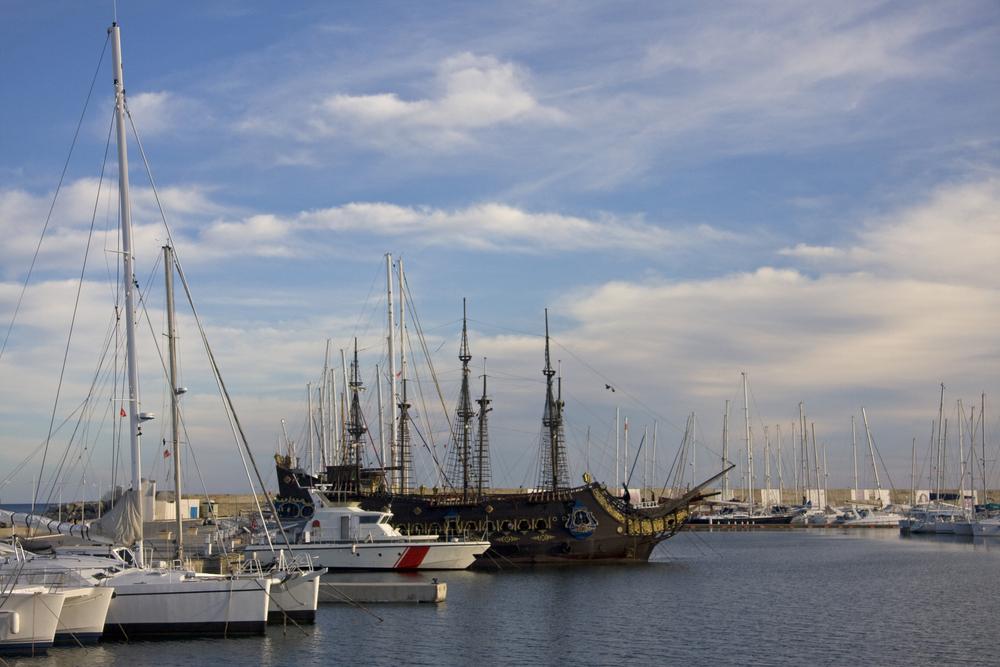 Порт Ясмин Аммаме. Хаммамет, Тунис.