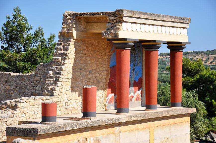 Кносский дворец. Крит, Греция.