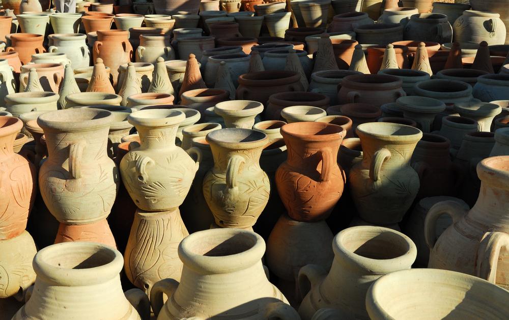 Керамика из Гелаллы, Джерба, Тунис.