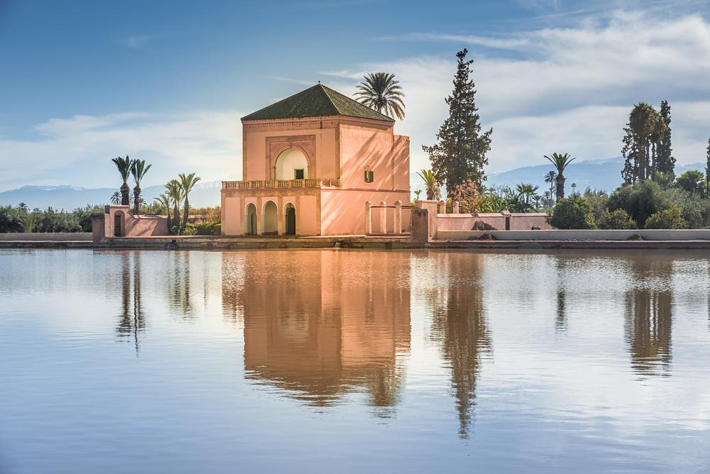 Сад Менара, Марракеш, Марокко.
