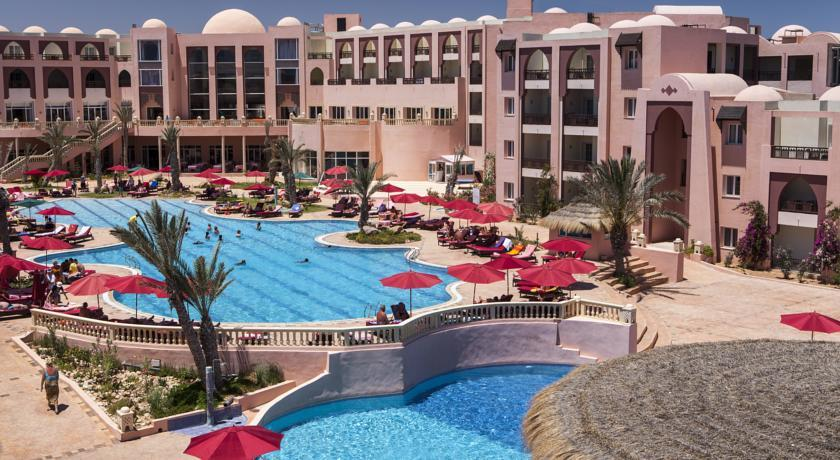 Отель Hotel Lella Meriam. Зарзис, Тунис