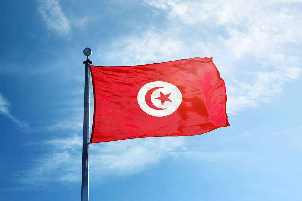 Флаг Туниса, Тунис.