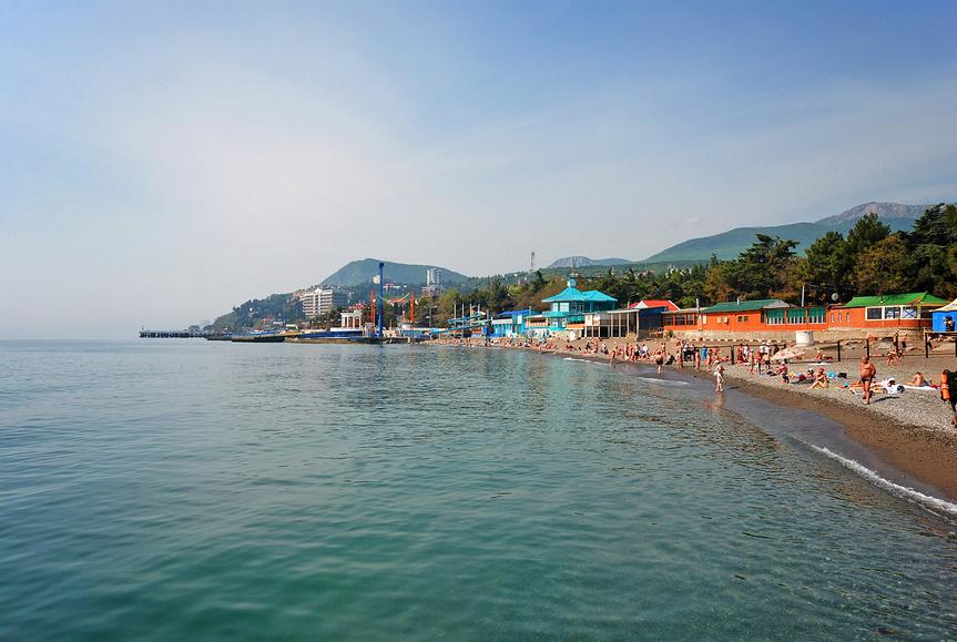 Побережье Алушты, Крым