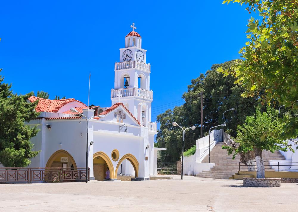 Монастырь Цамбика. Родос, Греция.