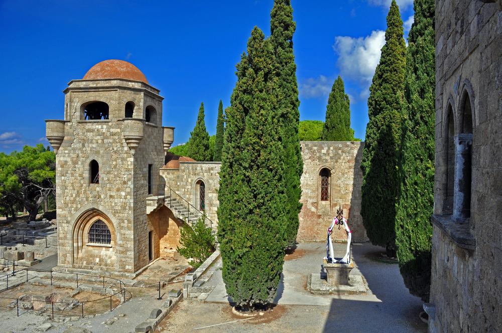 Монастырь Филеримос. Родос, Греция.