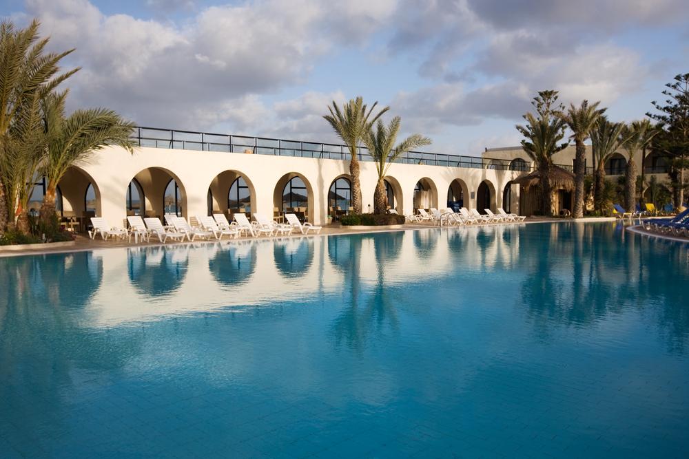 Бассейн в отеле, Джерба, Тунис.