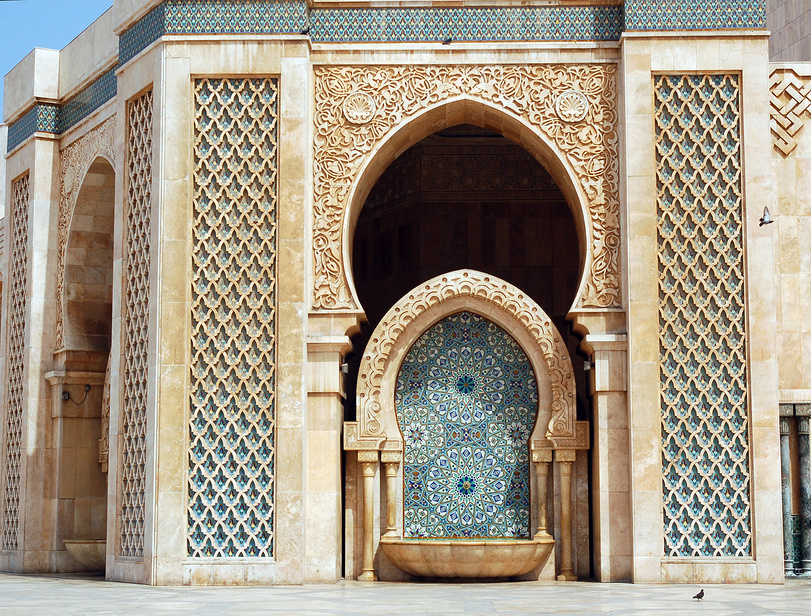 Мечеть Лубнан, Агадир, Марокко.