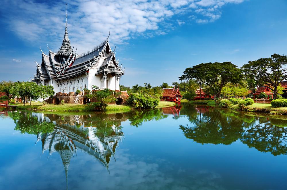 Дворец Санпхет Прасат в Бангкоке