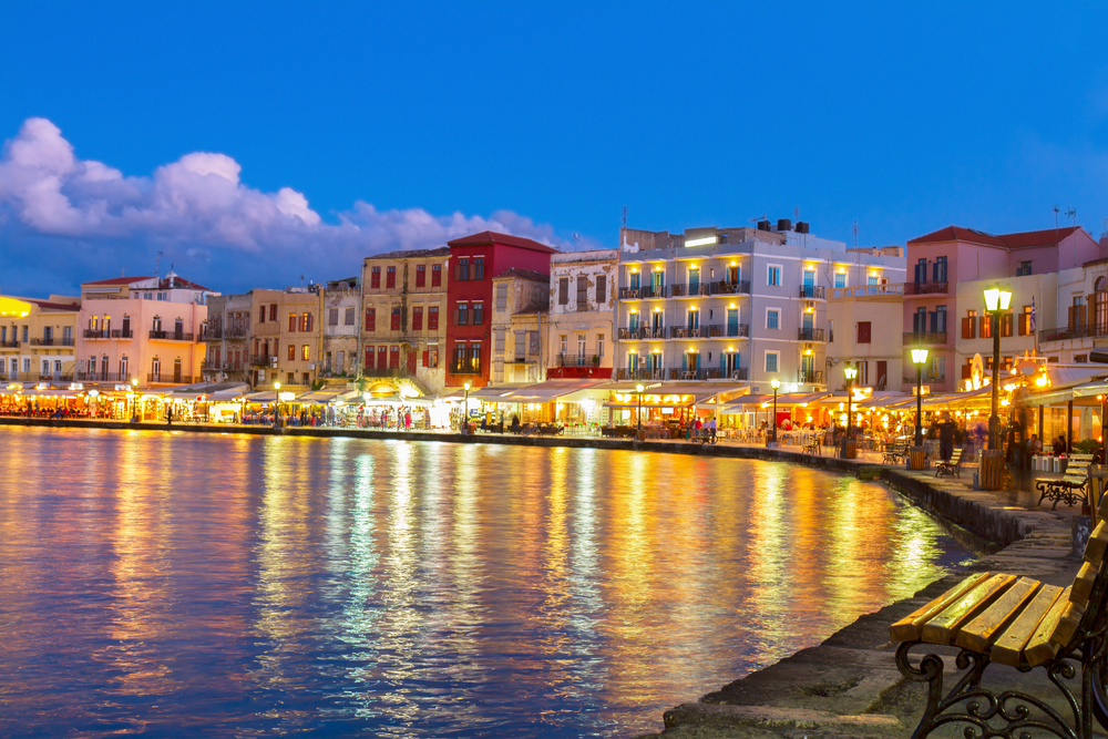 Старый порт. Крит, Греция.