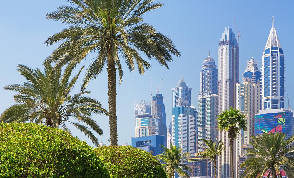 Дубай Марина, Дубай, ОАЭ.