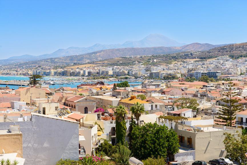 Гавань Ретимно. Крит, Греция.