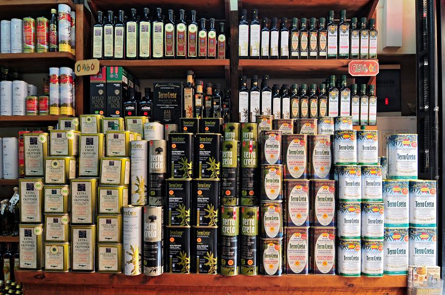 Оливковое масло, Греция