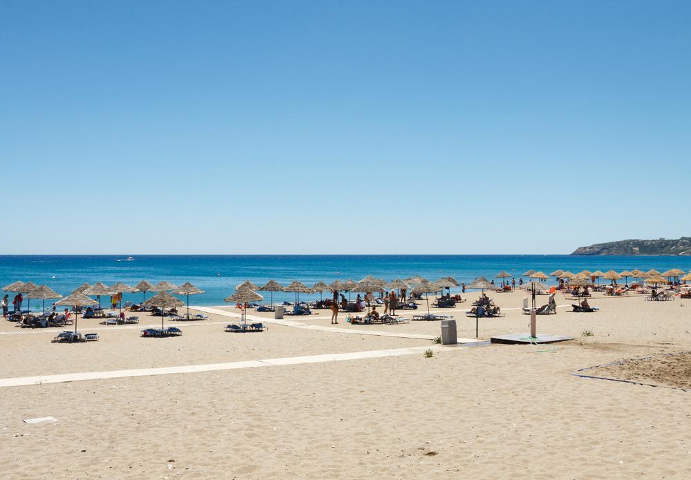 Пляж Фалираки. Родос, Греция