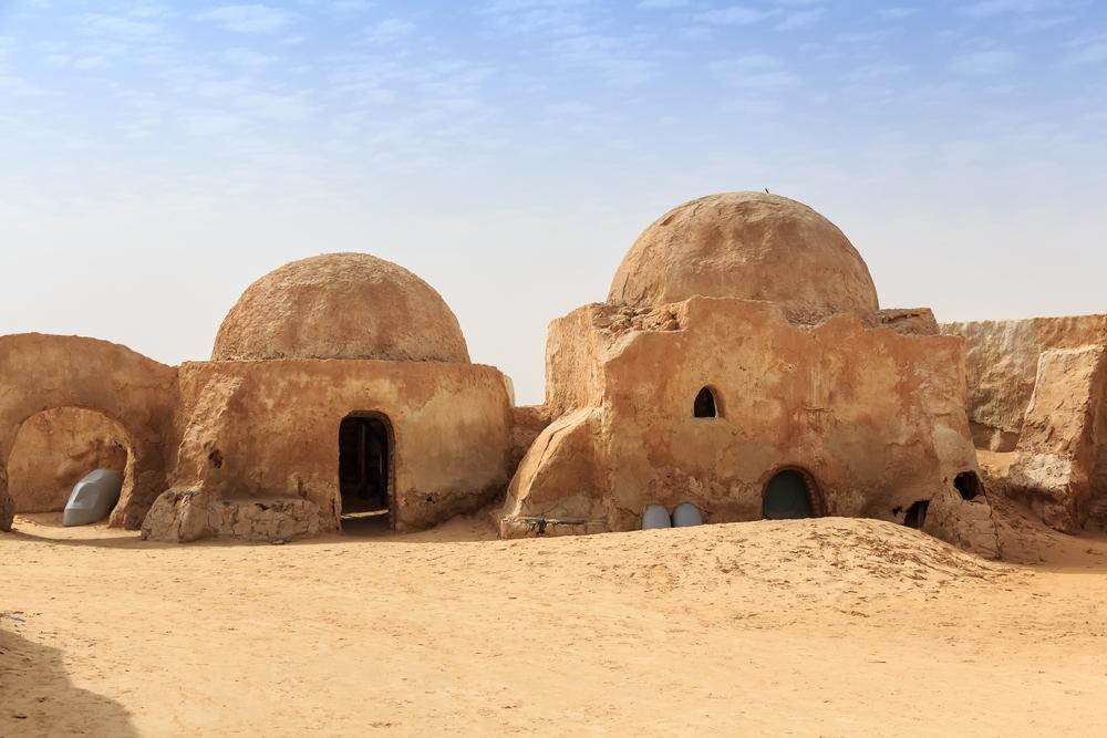 Декорации Татуина. Тунис.