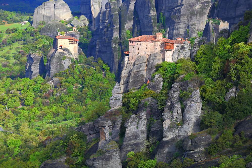 Монастыри Метеоры, Греция.