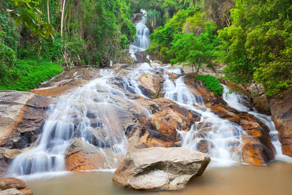 Водопад Намуанг-2, остров Самуи