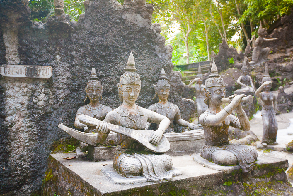Магический сад Будды, остров Самуи