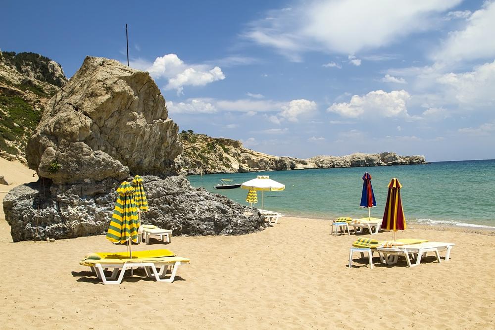 Пляж Плимири. Родос, Греция.