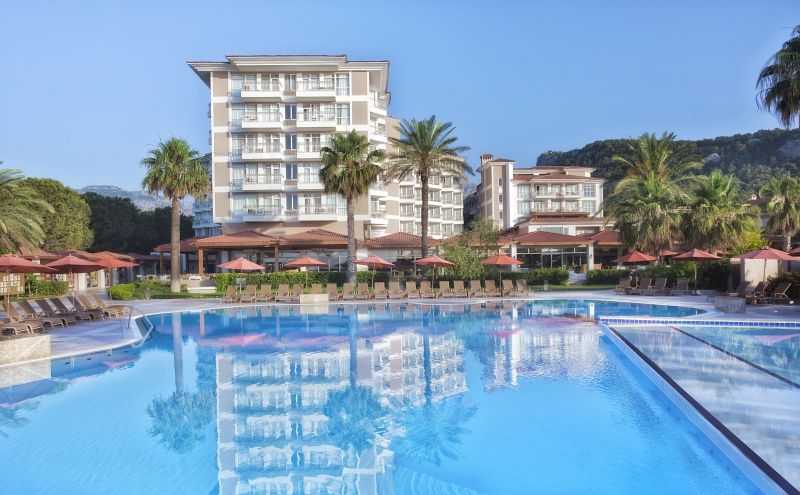Отель Akka Alinda Hotel, Кириш, Турция.