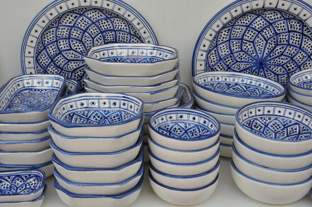 Набёльская керамика. Набёль, Тунис.