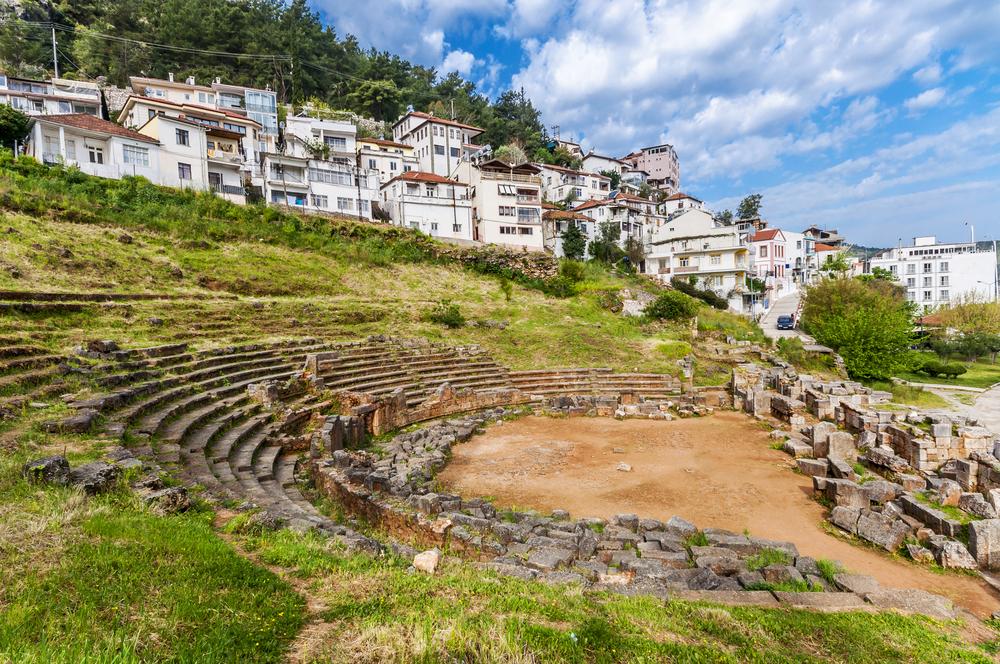 Руины римского театра, Фетхие, Турция.