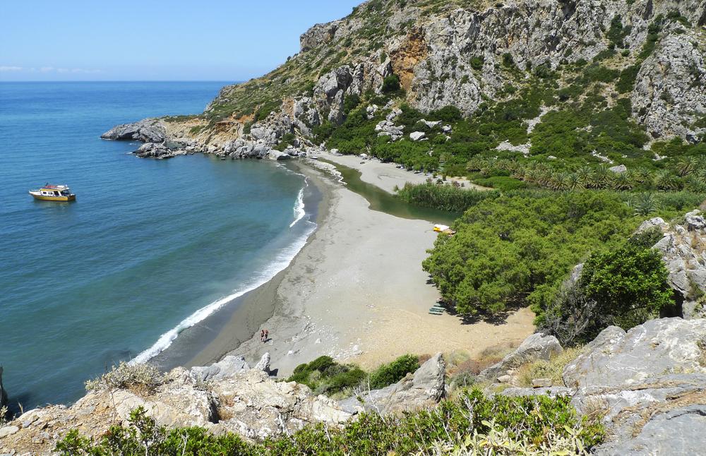 Пляж Превели. Крит, Греция.