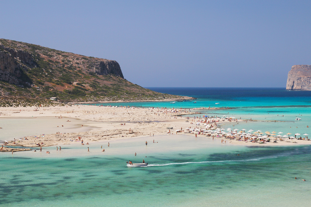 Лагуна Балос. Крит, Греция.