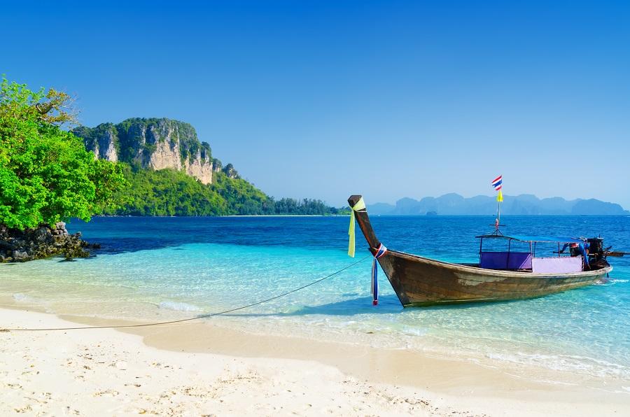 Пляж в Краби