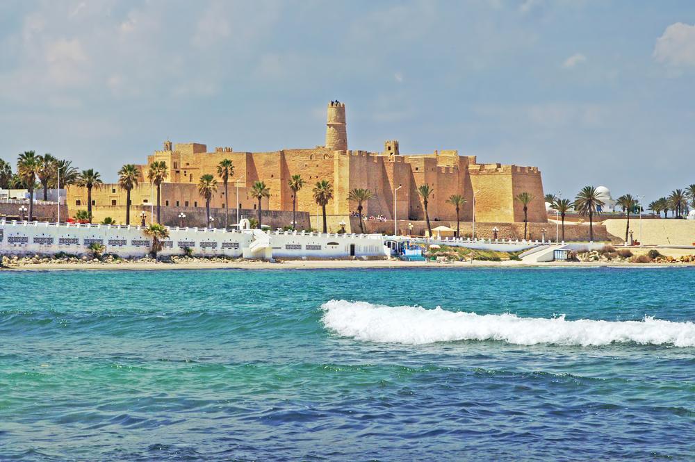 Крепость Рибат Хартем. Монастир, Тунис.