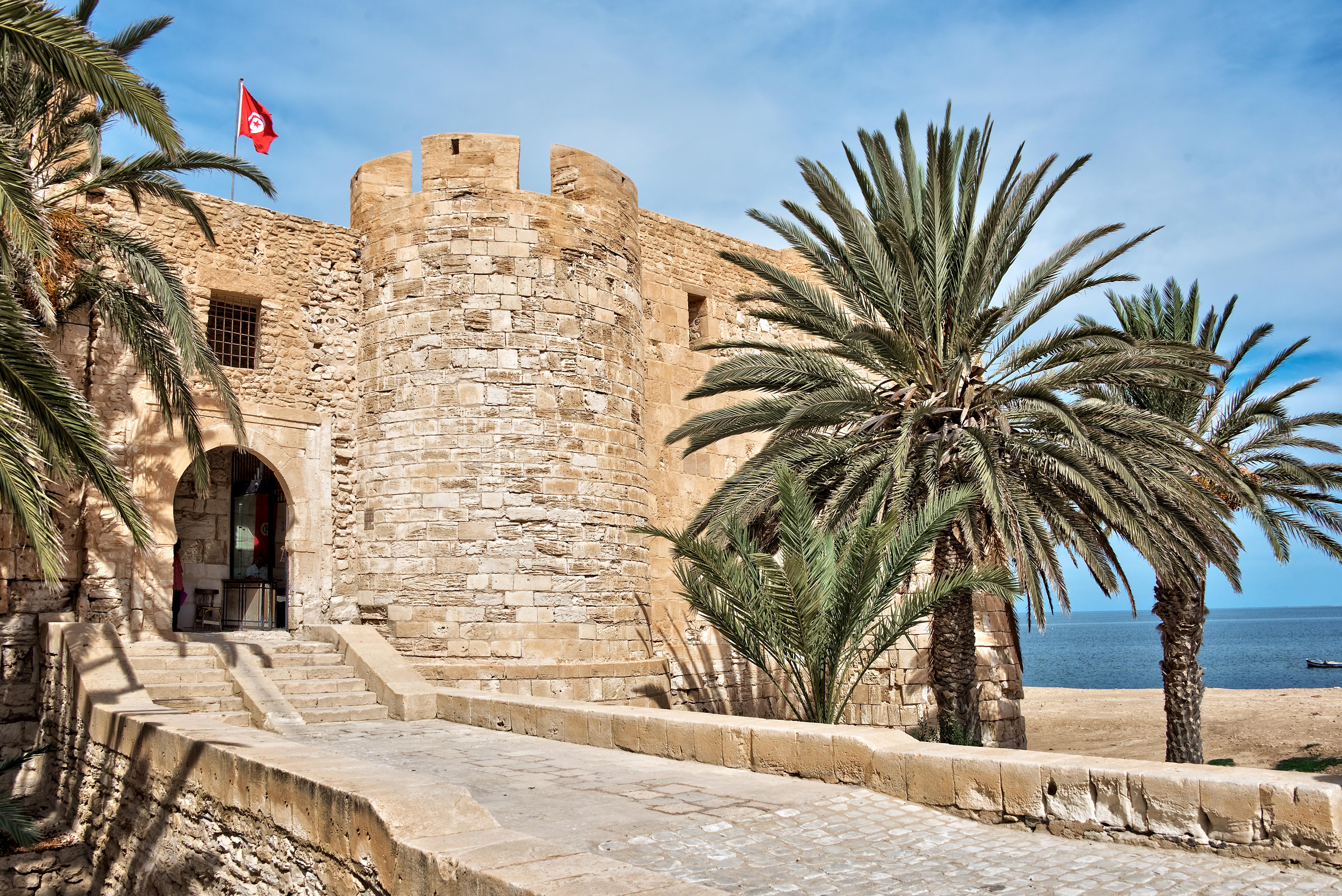 Форт Гази-Мустафа, Джерба, Тунис.