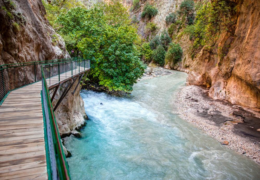 Ущелье Саклыкент, Фетхие, Турция.