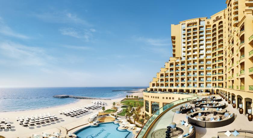 Отель Fairmont Ajman, Аджман, ОАЭ.