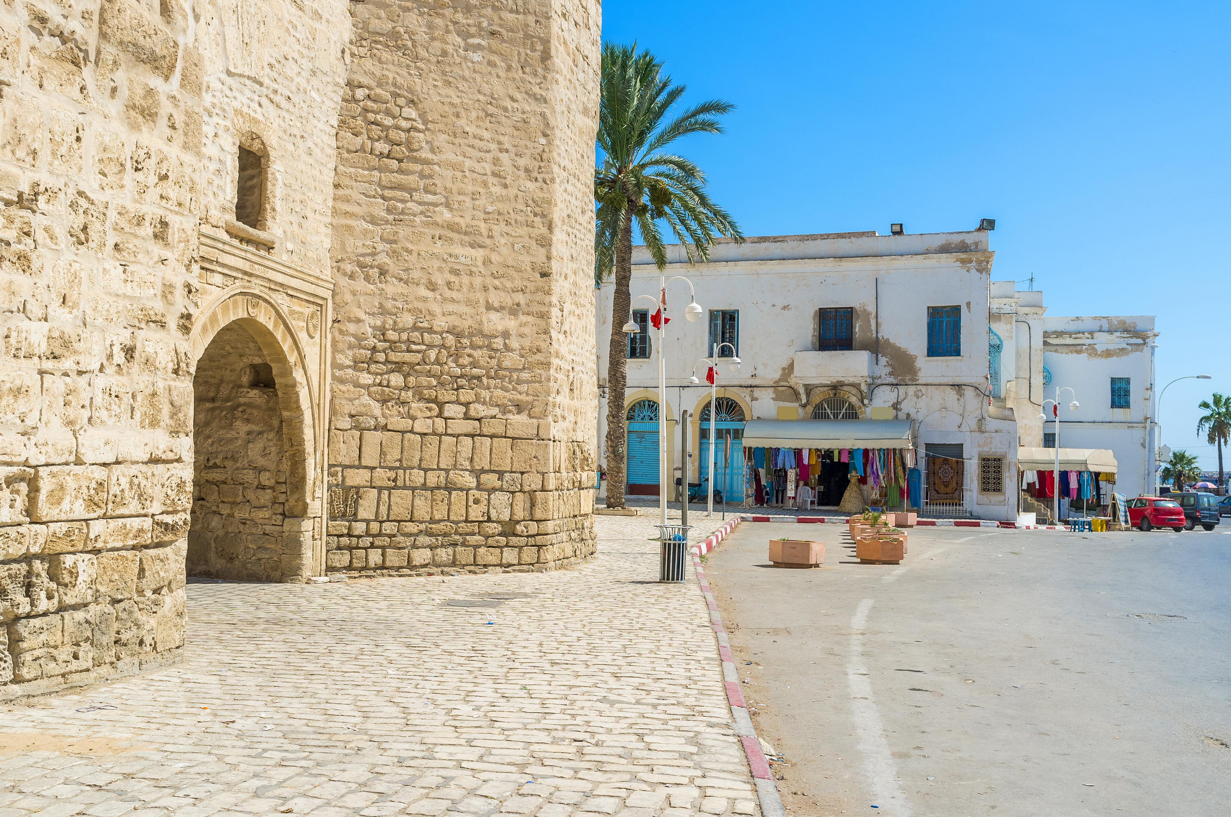 Черные ворота, Махдия, Тунис.